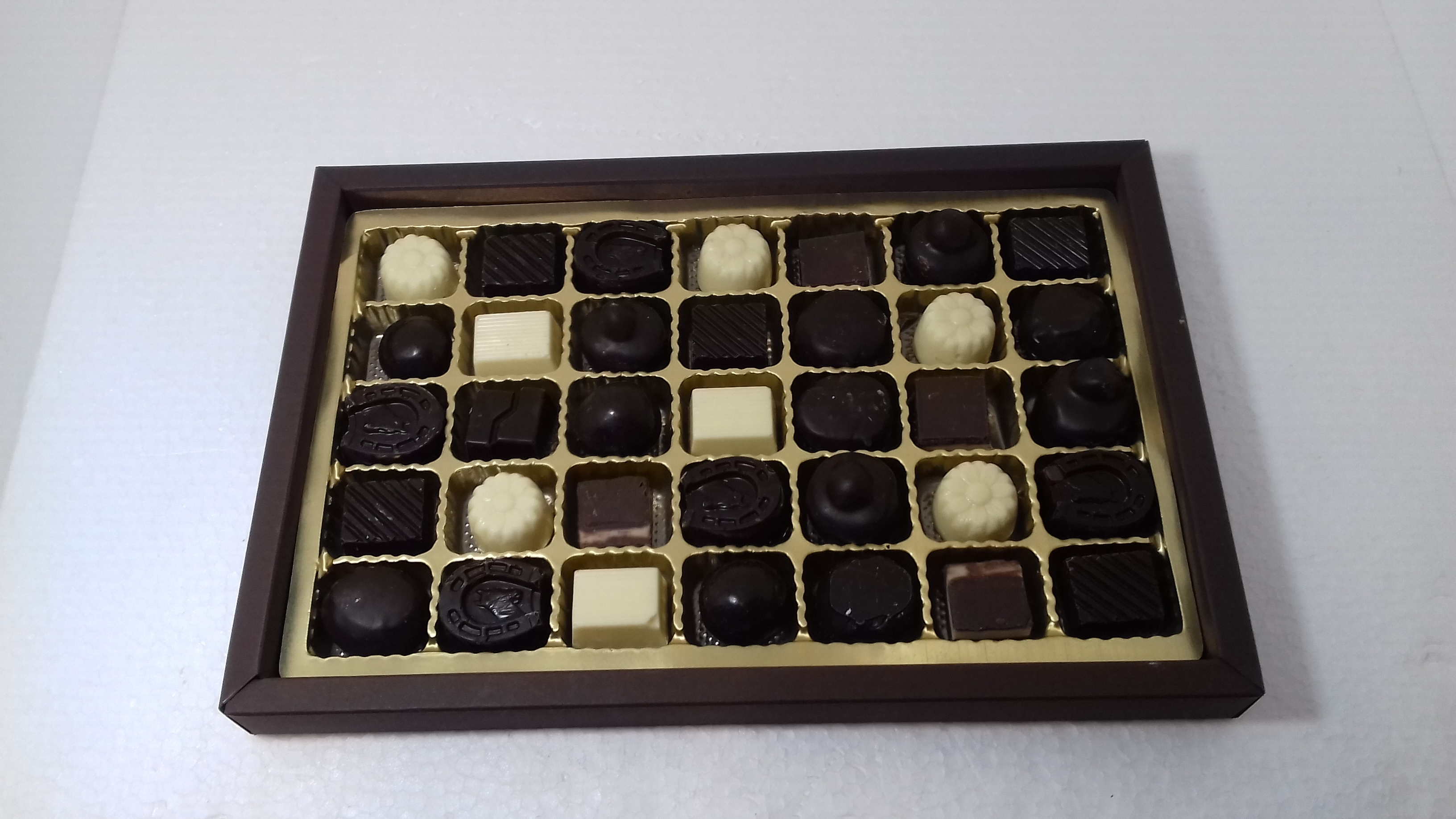 scatola rettangolare 35 cioccolatini