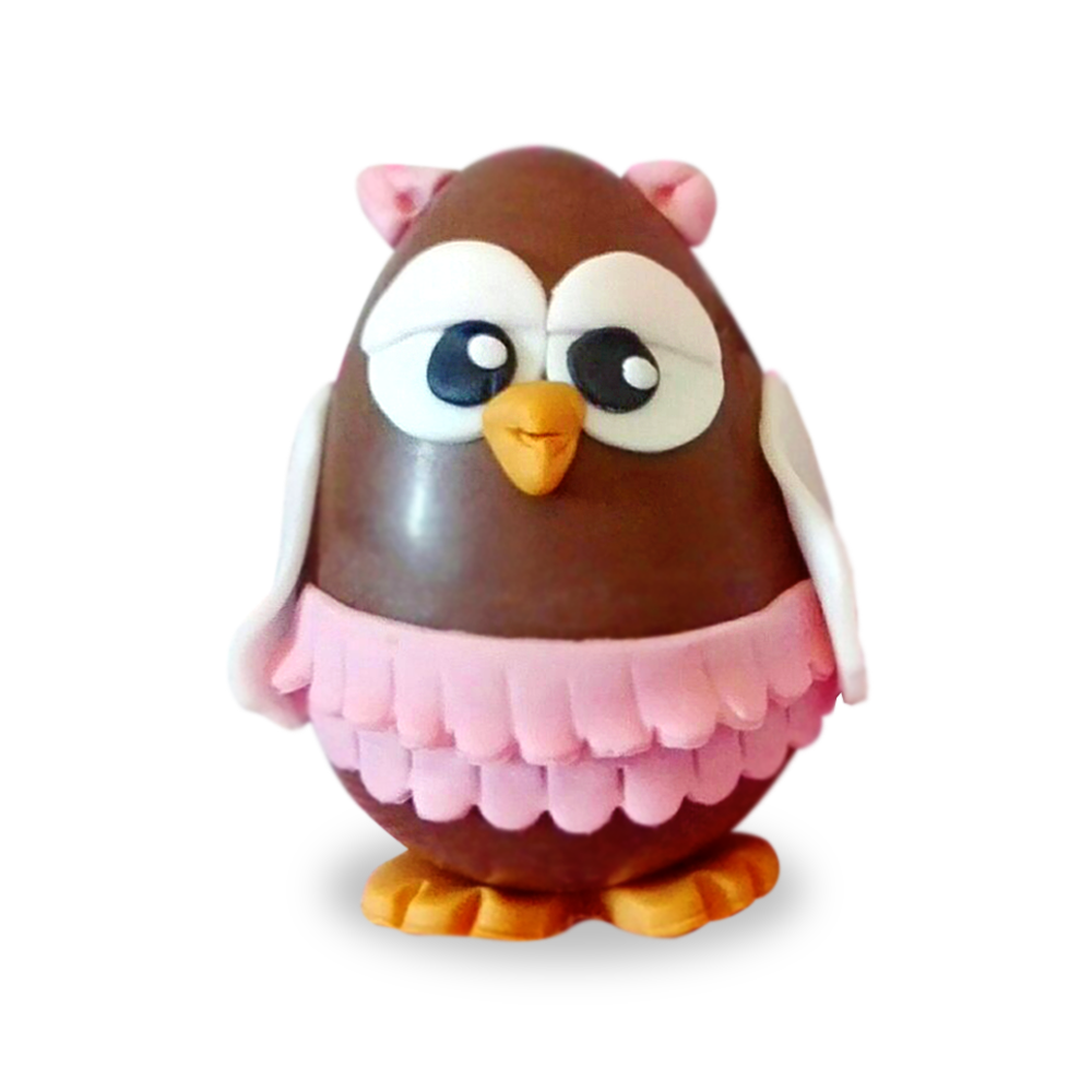 Uovo cioccolato artigianale a forma di aquila