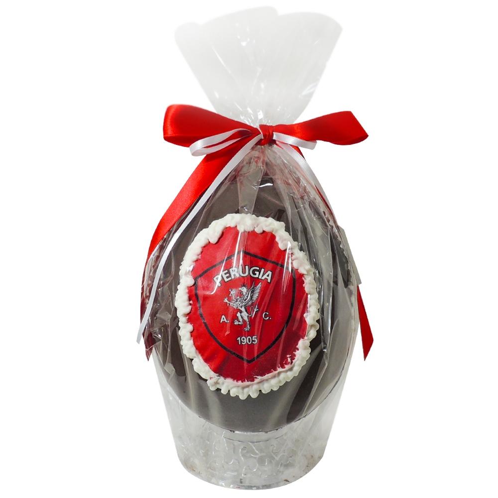 Uovo di cioccolato artigianale Perugia Calcio
