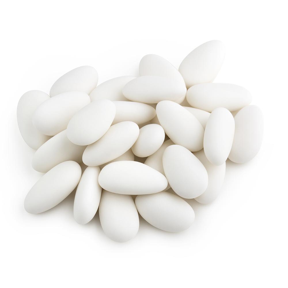 Confetti artigianali aromatizzati bianchi 1 KG gusti vari