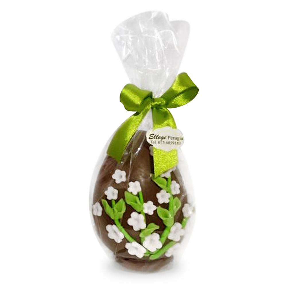 Uova di Pasqua artigianali decorate in pasta di zucchero