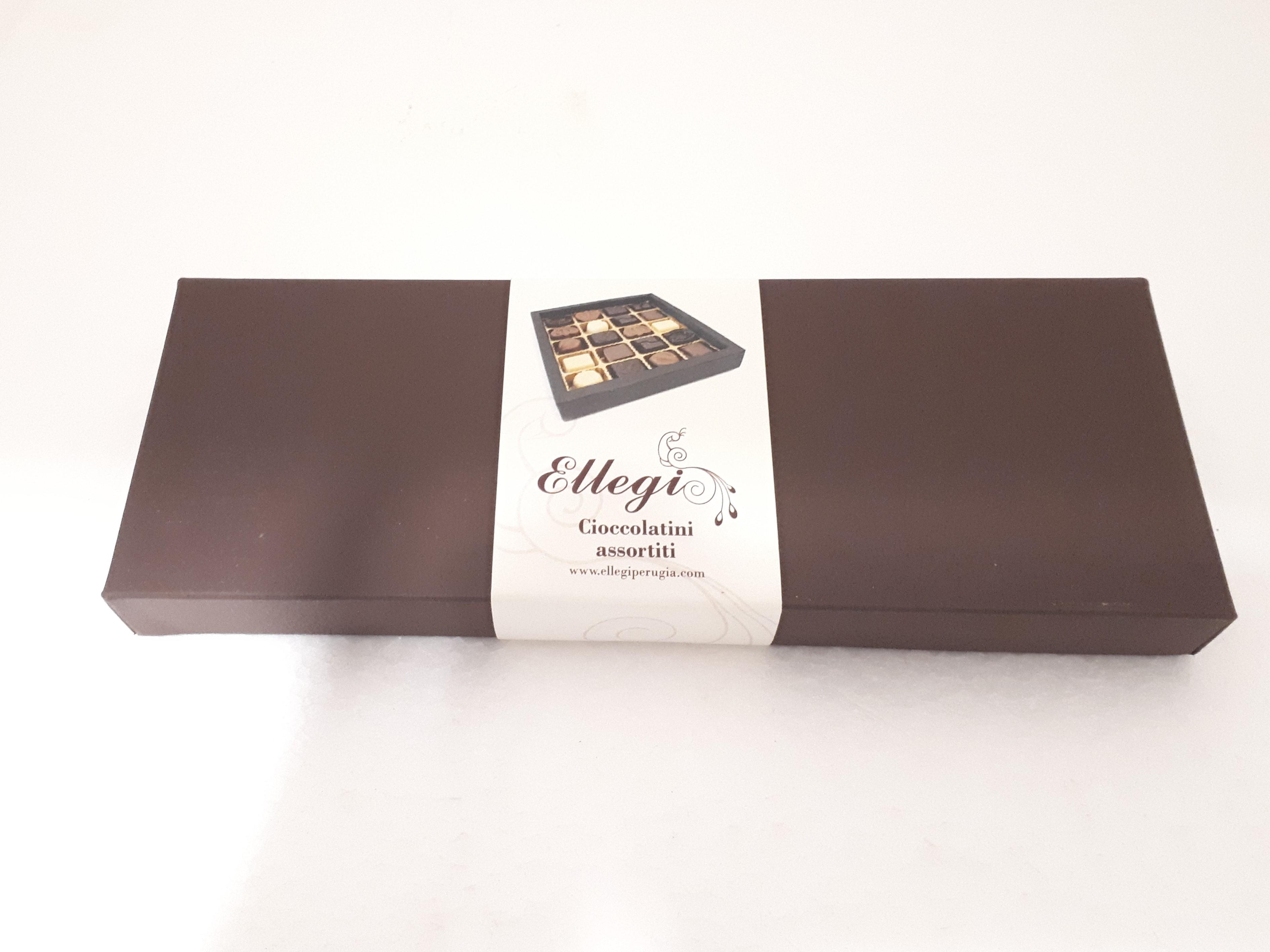 scatola rettangolare 12 cioccolatini