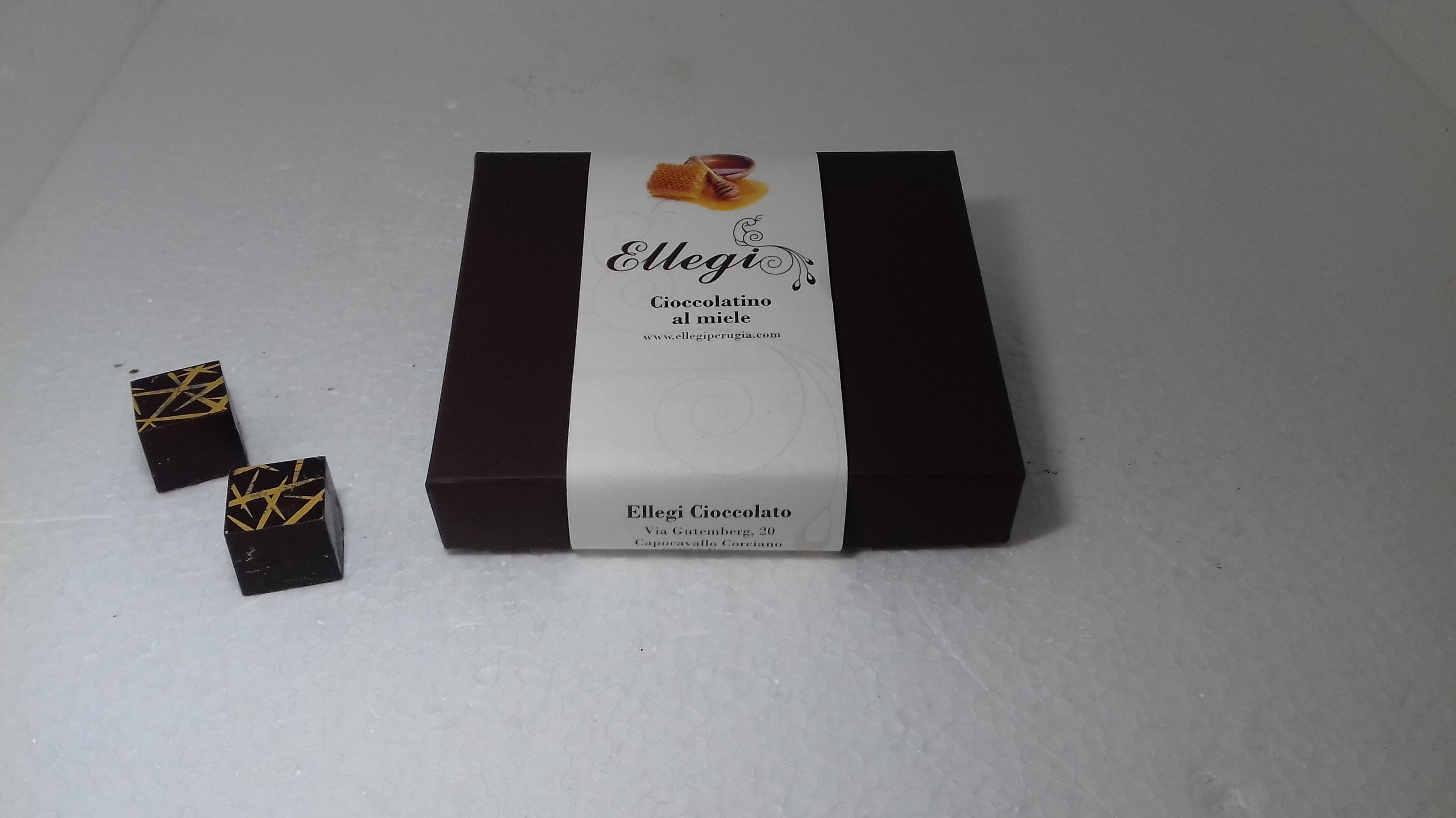 scatola 9 cioccolotini al miele