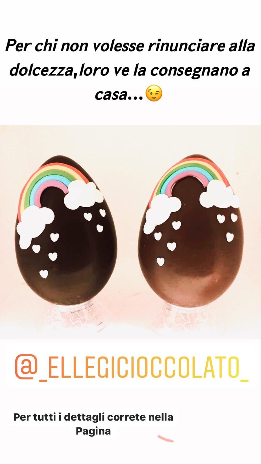 Uovo gr.350 arcobaleno fondente (Copy)