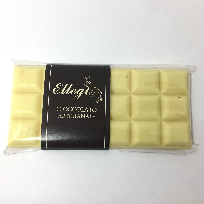 Tavoletta 100 gr Cioccolato artigianale bianco latte o fondente