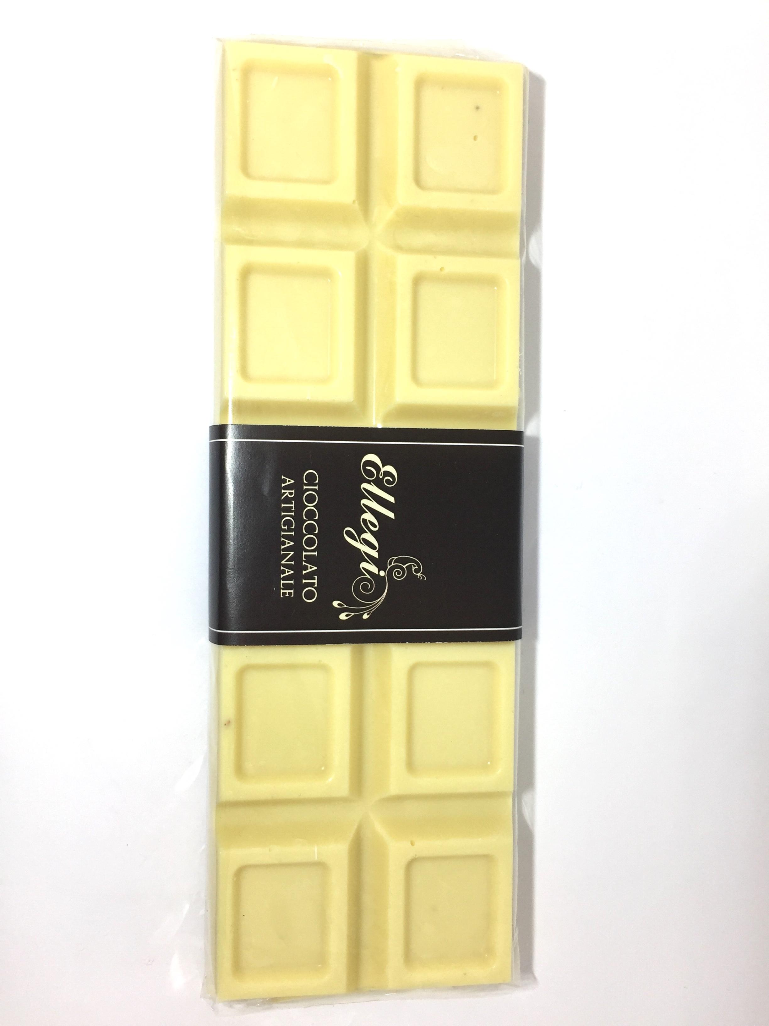 Tavoletta 200 gr al cioccolato ARTIGIANALE bianco latte o fondente