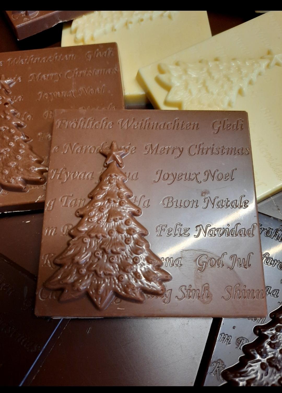 Mattonellina natalizia al cioccolato